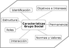 caracteristicas del desarrollo del grupo social
